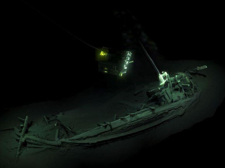 La plus vieille épave intacte du monde découverte dans la mer Noire