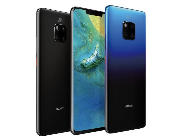 Huawei évoque quatre capteurs photo pour un zoom x10 sans perte l'année prochaine