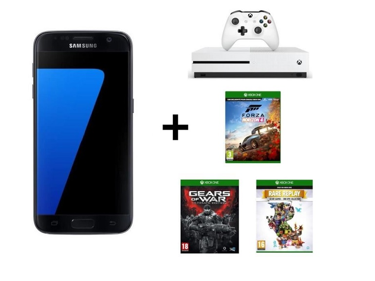 Bon plan : le pack Samsung Galaxy S7 + Xbox One S + Forza Horizon 4 à seulement 399€
