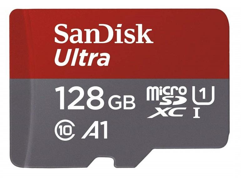 Bon plan : la carte microSDXC SanDisk 128 Go est à 20,99€ sur Amazon