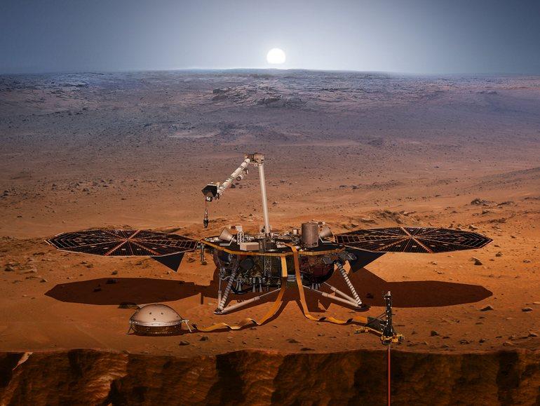 La sonde InSight fait tomber un premier record mondial