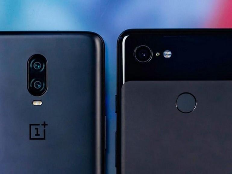 OnePlus 6T vs Google Pixel 3 : lequel faut-il choisir ?