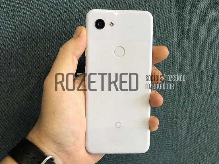 Google Pixel 3 « Lite » : les premières images ?