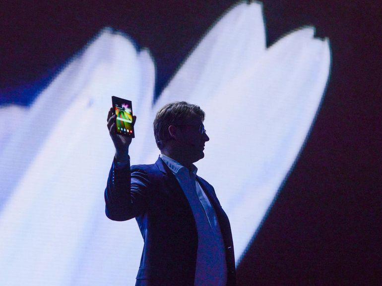 Samsung : le smartphone pliable pourrait dépasser les 2000€