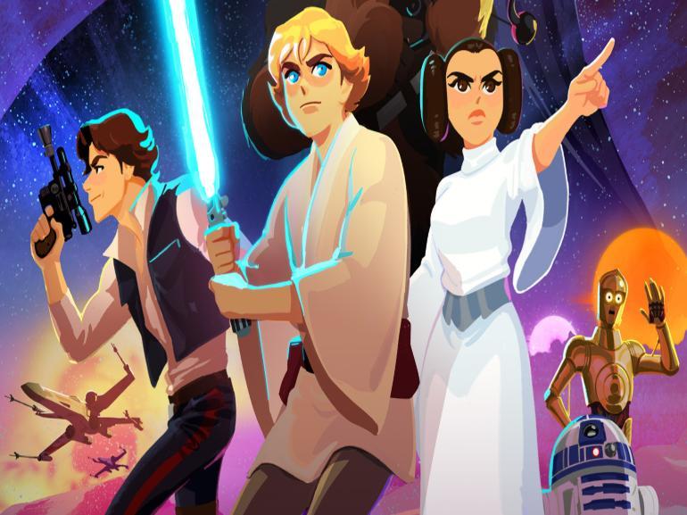 Disney lance une chaîne YouTube Star Wars pour les enfants
