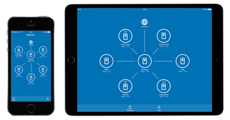 App Devolo Home Network screenshot