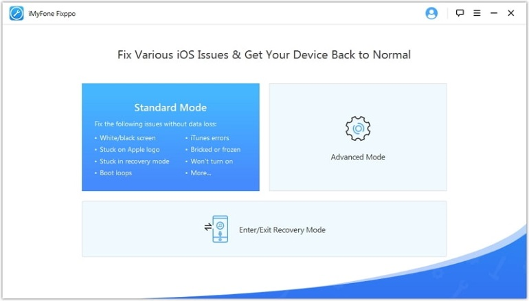 screenshot appli Fixppo