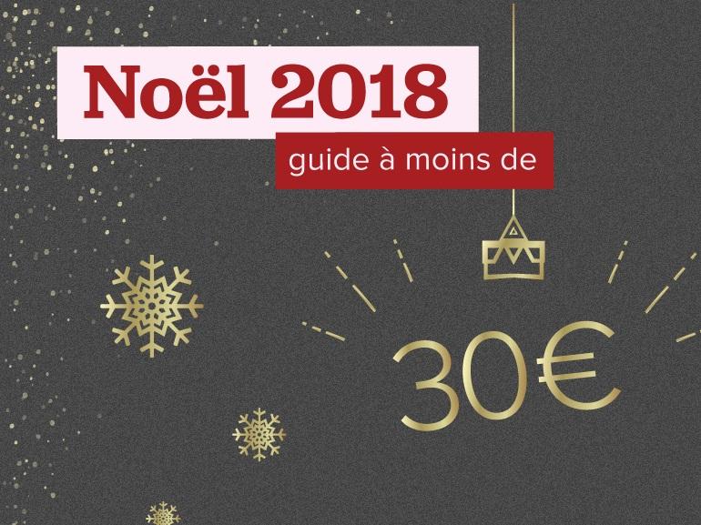 Cadeaux de dernière minute pour Noel : nos idées à moins de 30
