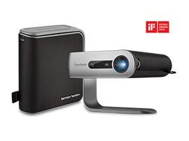 Test - ViewSonic M1 : un design intelligent pour un projecteur portable qui ne l'est pas