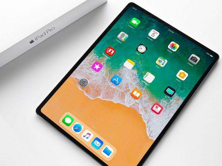 Plus de prise jack, écran bord à bord et Face ID, l'iPad 2019 se dessine