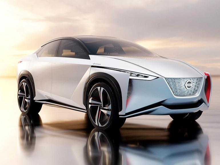 Avec son IMx, Nissan prépare un ambitieux SUV électrique concurrent du Tesla Model X