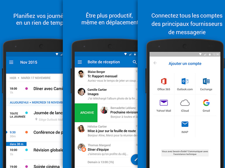 Cortana prendra bientôt place dans Outlook sous iOS et Android