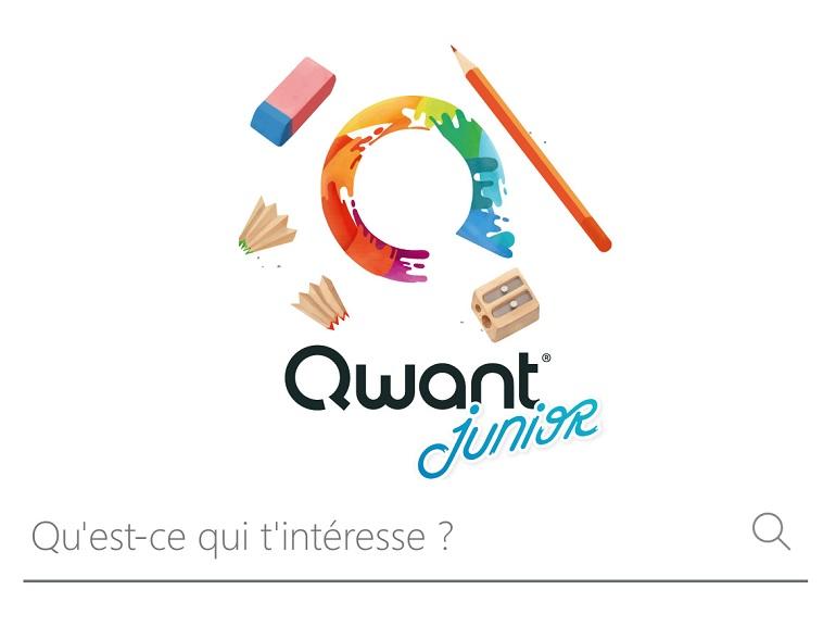 Qwant Junior, le moteur de recherche conçu pour les enfants arrive sur iOS et Android