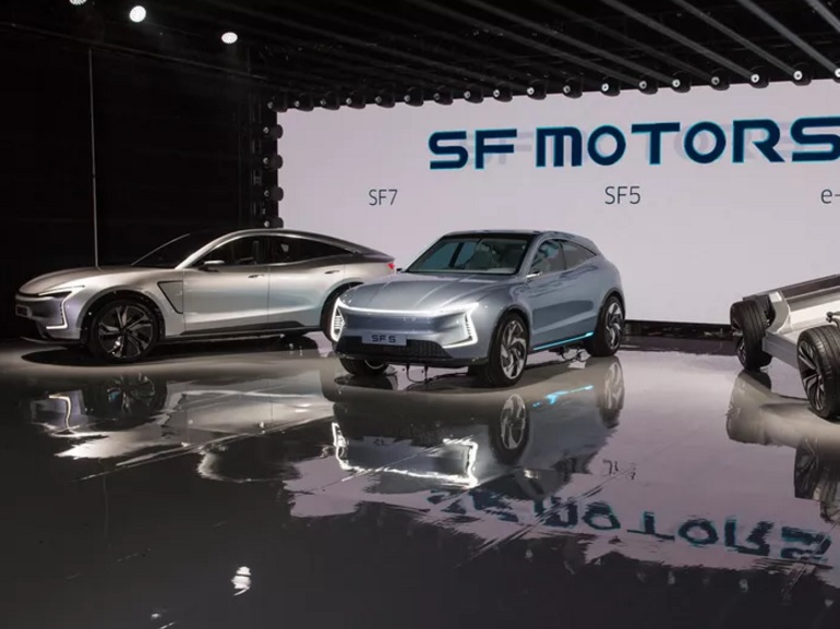 SF Motors, un nouveau concurrent de Tesla, dévoile deux SUV