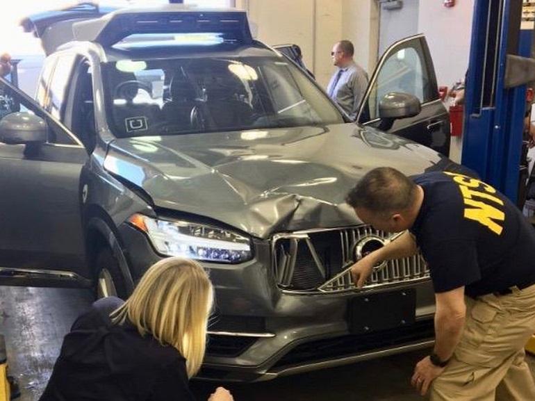 Uber privé de tests après l'accident mortel impliquant sa voiture autonome