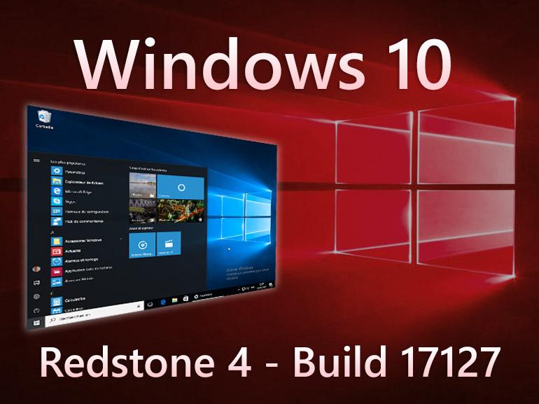 Windows 10 build 17127 : les fichiers ISO à télécharger