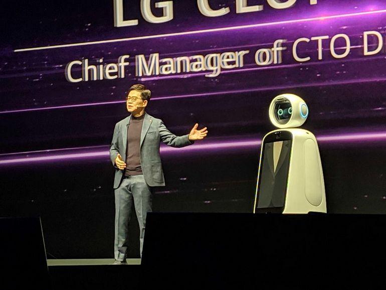 Selon LG, l'intelligence artificielle et la 5G vous faciliteront beaucoup la vie