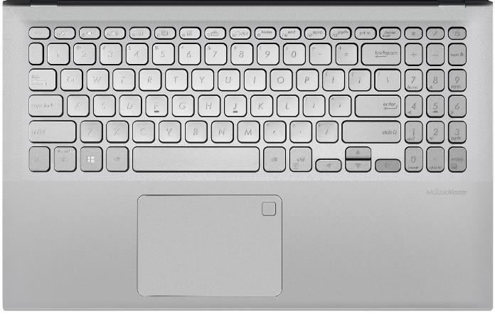 Vue du clavier