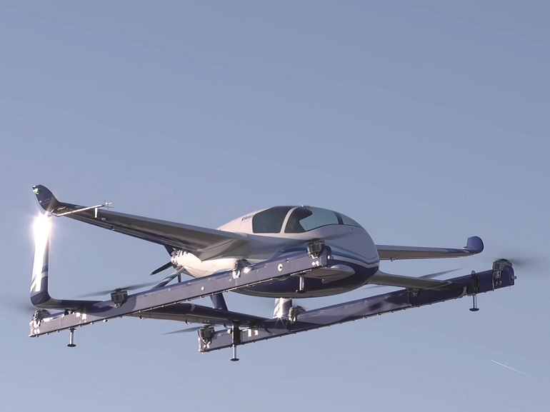 Le taxi volant autonome de Boeing réussit son baptême de l'air [vidéo]