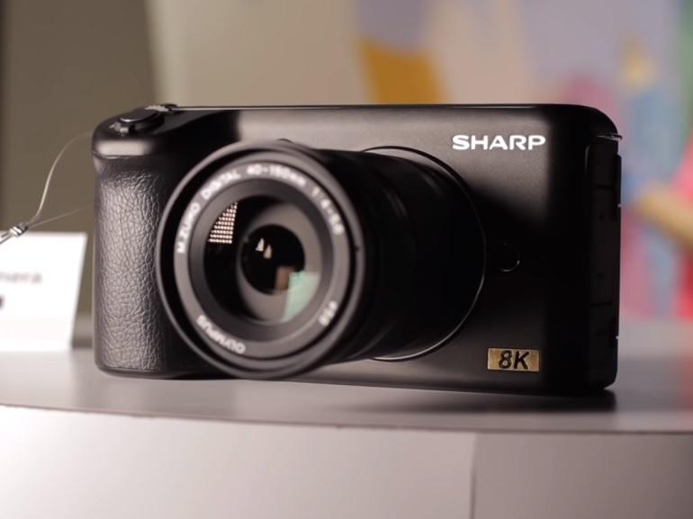 CES 2019 : Sharp dévoile une caméra 8K