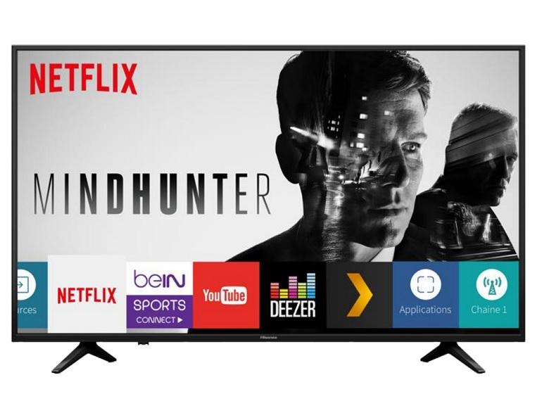 Bon plan : TV Hisense 4K HDR10, 58 pouces à 450€ au lieu de 800