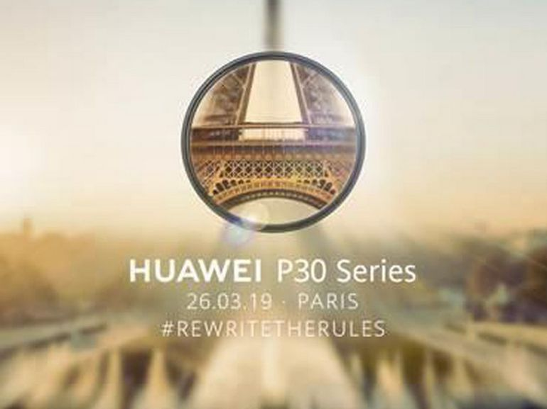 Les Huawei P30 et P30 Pro seront dévoilés à Paris le 26 mars