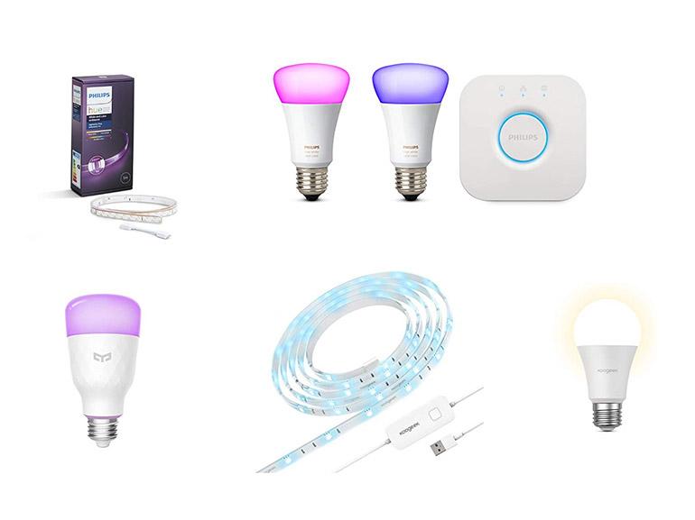 Zoom sur 3 marques d'ampoules et éclairages connectés qui valent le détour