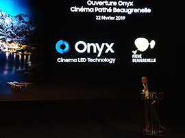 Samsung Onyx : l'écran de cinéma « du futur » arrive à Paris, voici nos impressions