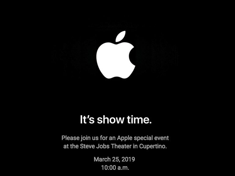 Apple nous promet un « Show Time » le 25 mars
