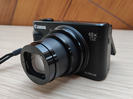 Test du compact Canon SX740 HS : le zoom x40 sauve les meubles