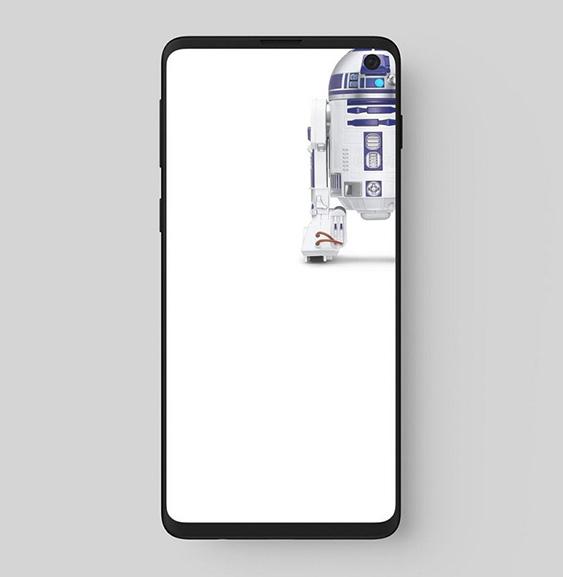 Samsung Galaxy S10 Des Fonds D écran Originaux Intègrent