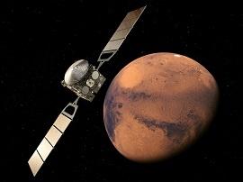 Mars : des cavités souterraines gorgées d'eau ?