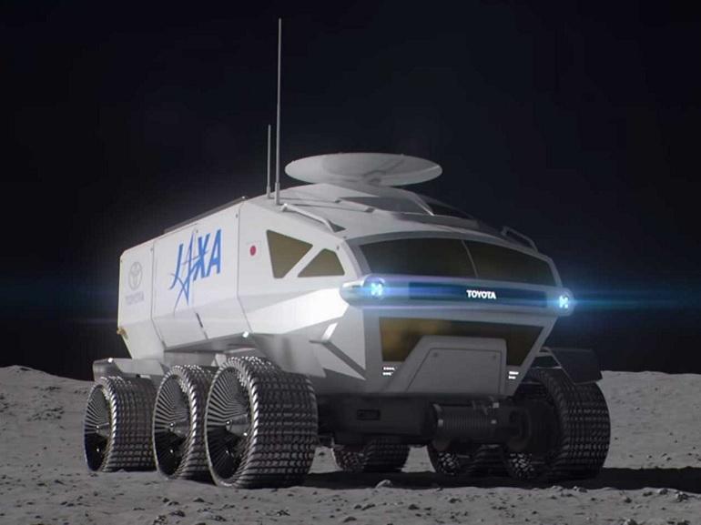 Toyota développe un rover futuriste pour explorer la Lune