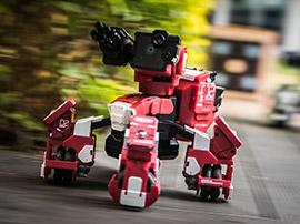 Test de GEIO, le robot de combat pour tous