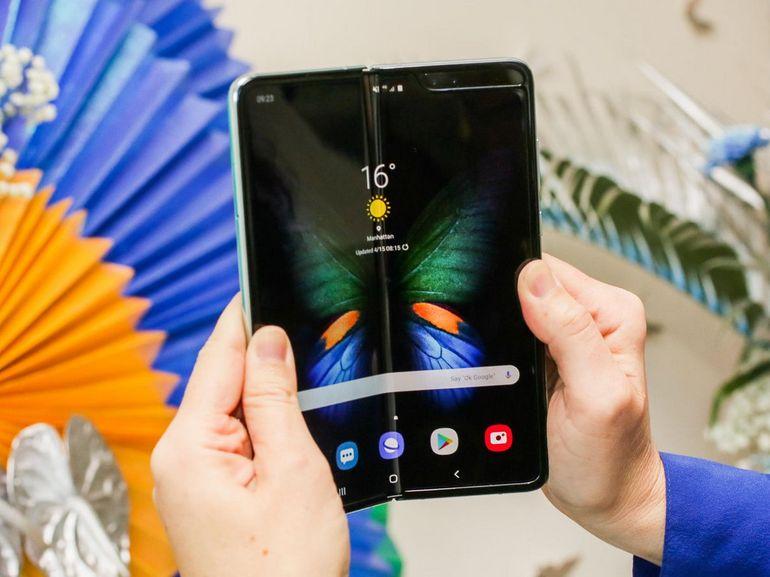 Prise en main du Samsung Galaxy Fold : comme un aperçu du futur