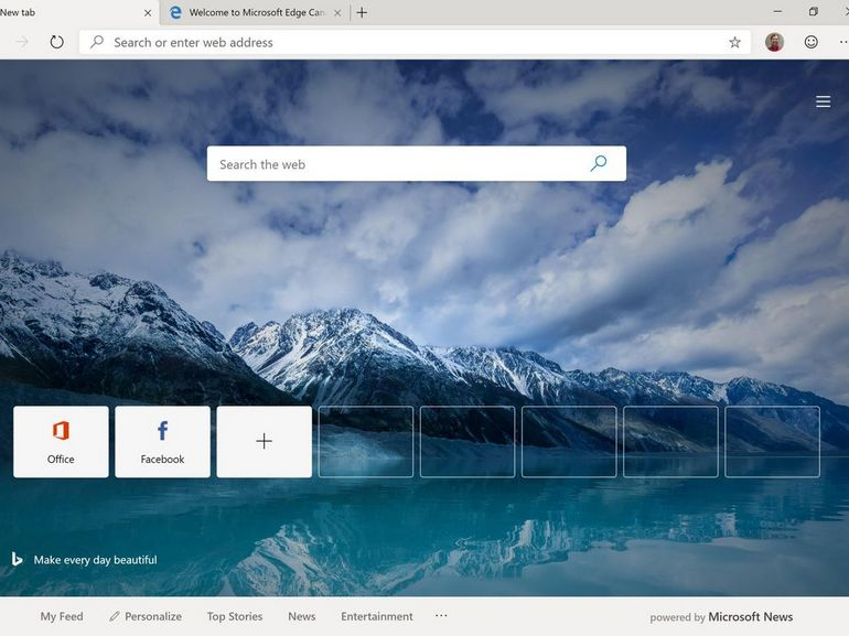 Microsoft Edge Chromium : le navigateur est disponible en version bêta