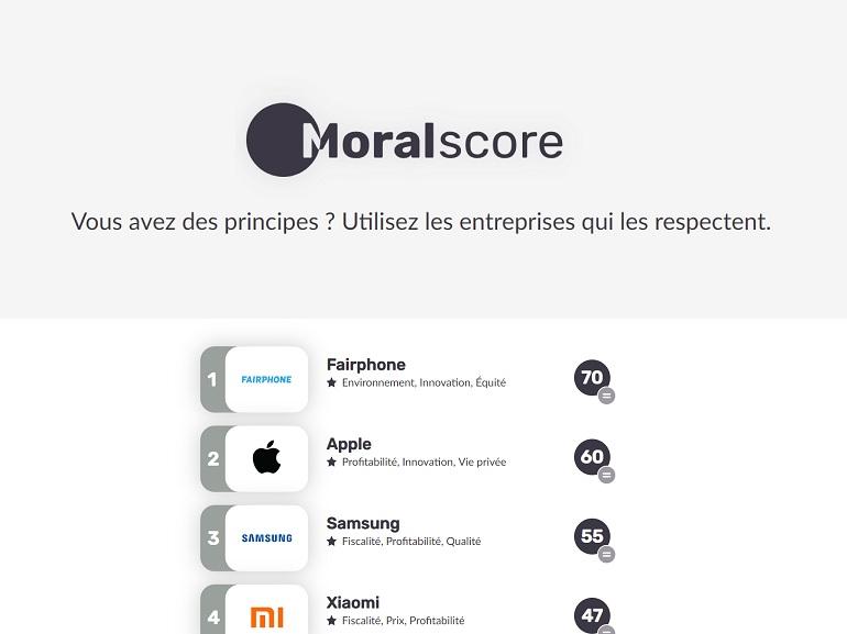 Moralscore : faites vos achats et comparez les marques en fonction de vos principes moraux
