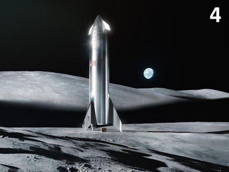 Elon Musk se voit déjà sur la Lune
