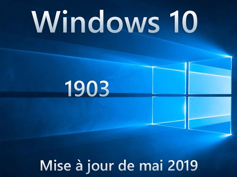 Windows 10 1903 corrige le bug qui ralentit l'arrêt du système