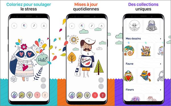 5 Applis De Coloriage Ios Ou Android Qui Vous Rendront Addict Cnet France