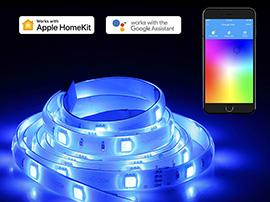 Bon plan : un ruban LED connecté compatible Homekit, Alexa et Google Assistant à 29,99€