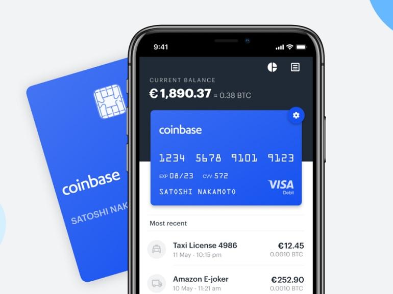 Coinbase : la carte de paiement en cryptomonnaies arrive en France