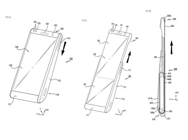 Samsung : un smartphone avec écran enroulable en préparation ?