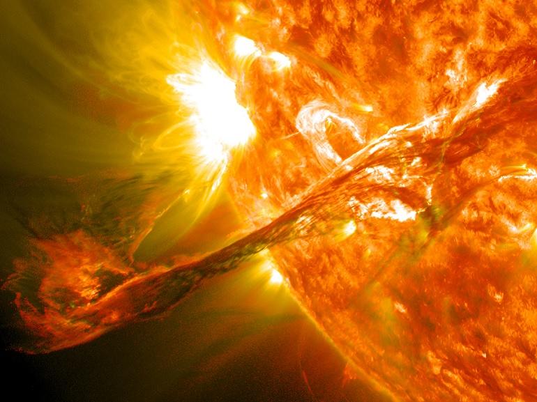 La Terre pourrait un jour être frappée par une éruption solaire massive