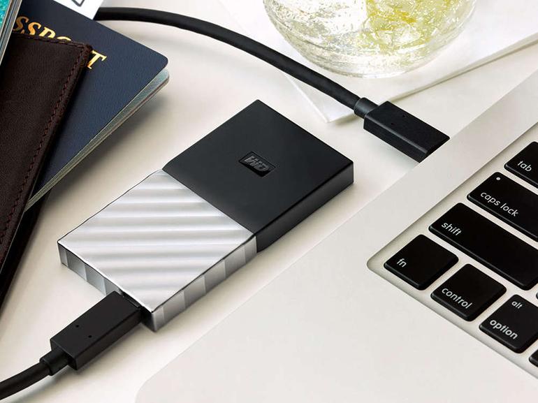 Test du SSD externe WD My Passport SSD, un disque taillé pour la mobilité et sécurisé