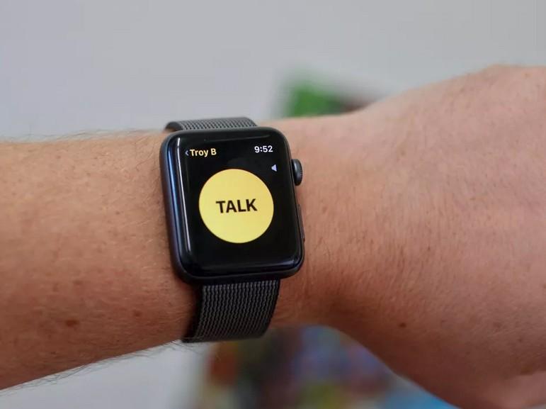 L'application talkie-walkie de l'Apple Watch désactivée à cause d'un bug de sécurité
