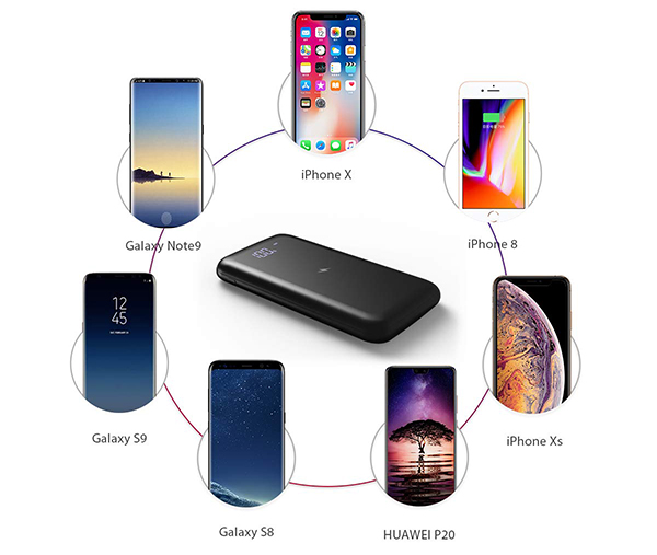 Smartphones Qi