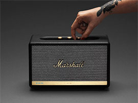 Test - Marshall Acton II Voice : une enceinte intelligente solide comme un rock