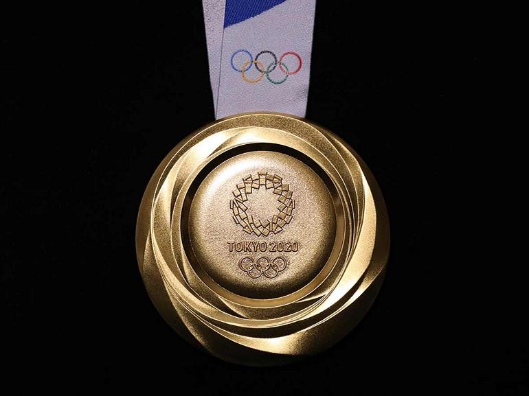 Voici les médailles des Jeux olympiques confectionnées à partir de téléphones portables recyclés