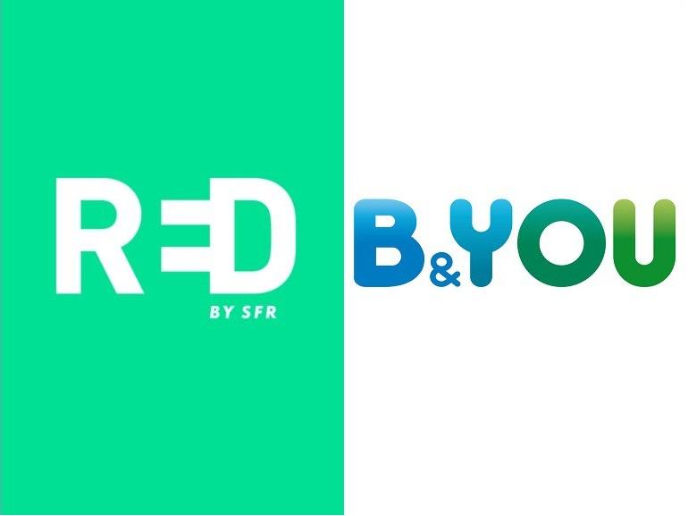 RED by SFR ou B&You : quel forfait 5 Go à 5 euros choisir ce week-end ?